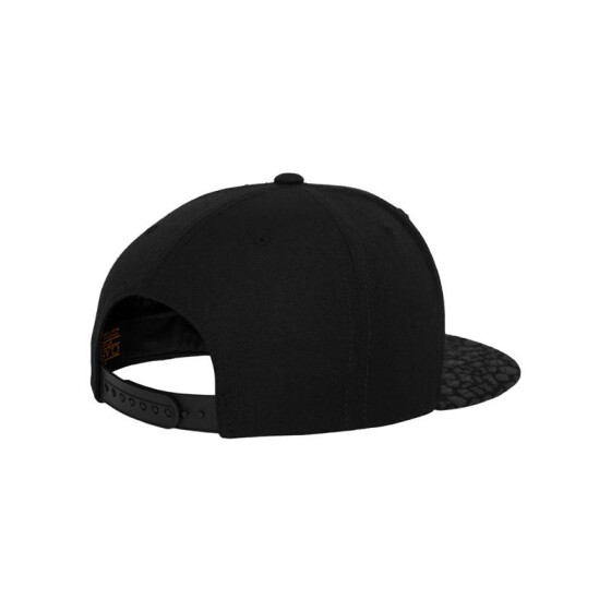 Flexfit Animal Tone in Tone Snapback, blk/leopard/blk
