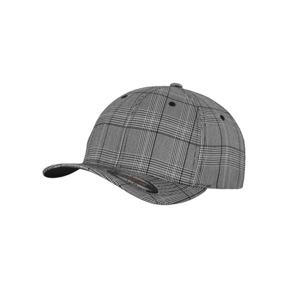 Flexfit Glen Check, blk/wht
