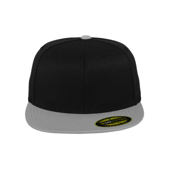 Flexfit Premium 210 Fitted 2-Tone, blk/gry