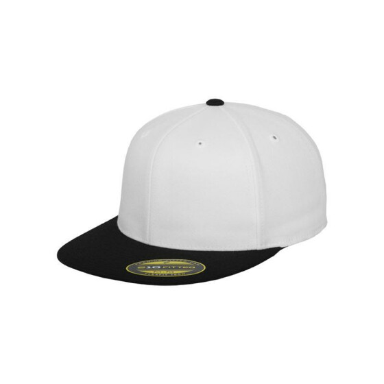 Flexfit Premium 210 Fitted 2-Tone, wht/blk