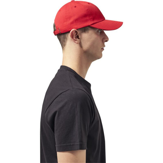 Flexfit Low Profile Cotton Twill, red