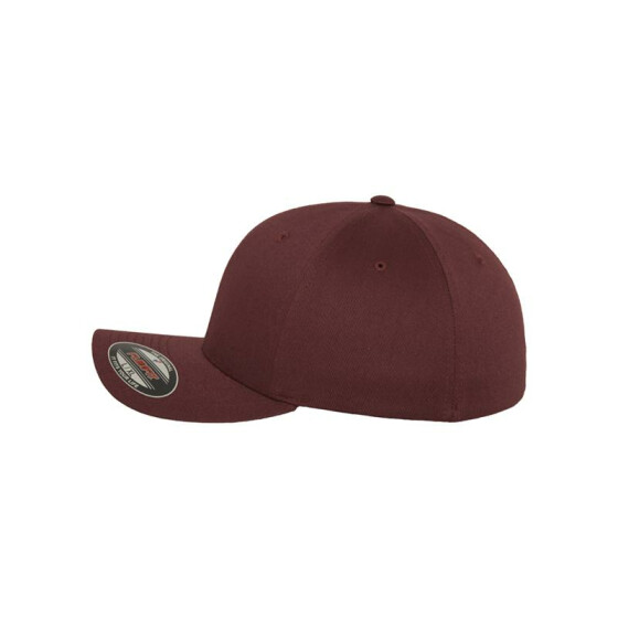 Flexfit Wooly Combed, maroon