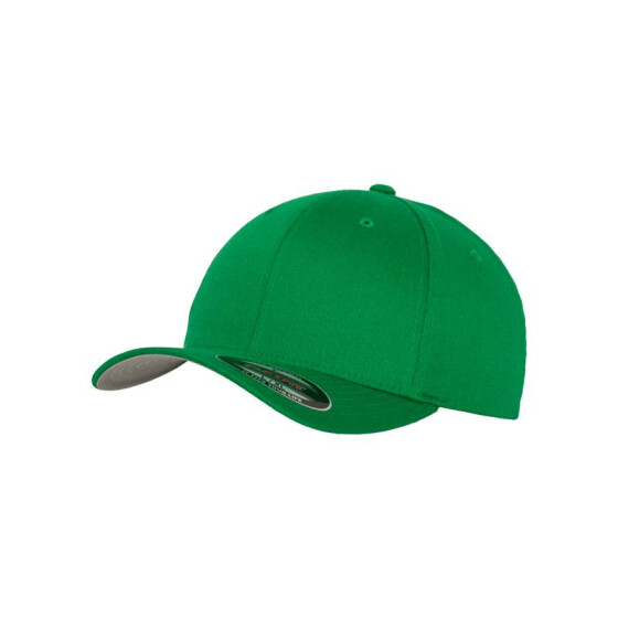 Flexfit Wooly Combed, pepper green