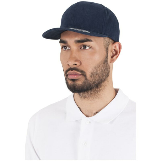 Flexfit Brushed Cotton Twill Mid-Profile, navy