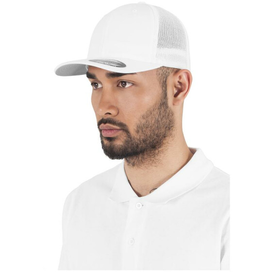 Flexfit Mesh Trucker, white
