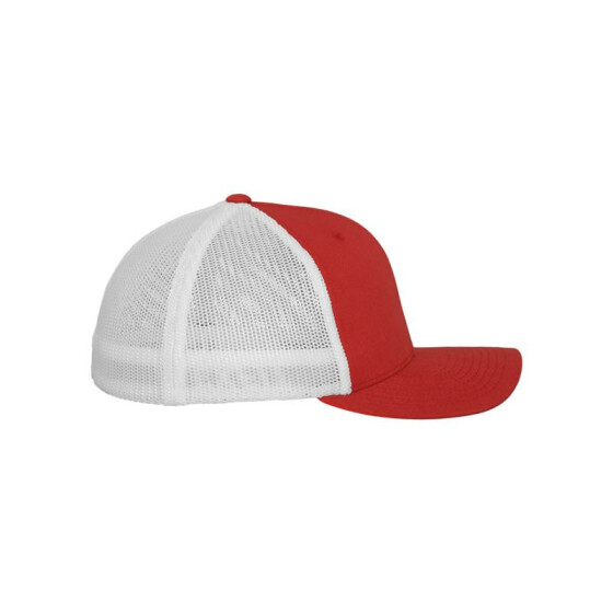 Flexfit Mesh Trucker 2-Tone, red/wht