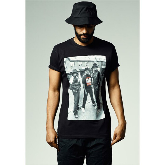 Mister Tee Run DMC Kings Of Rock T-Shirt, black