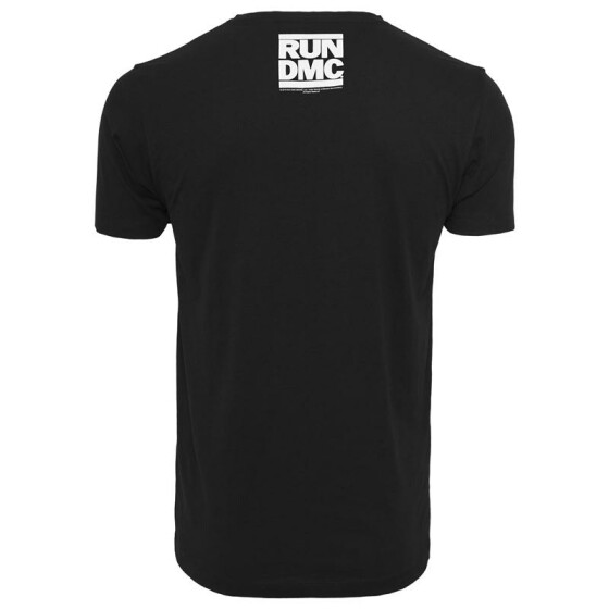 Mister Tee Run DMC Logo Tee, black