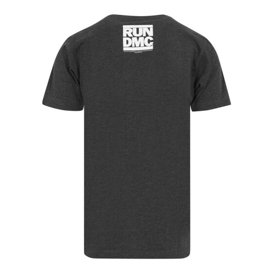 Mister Tee Run DMC Logo Tee, charcoal