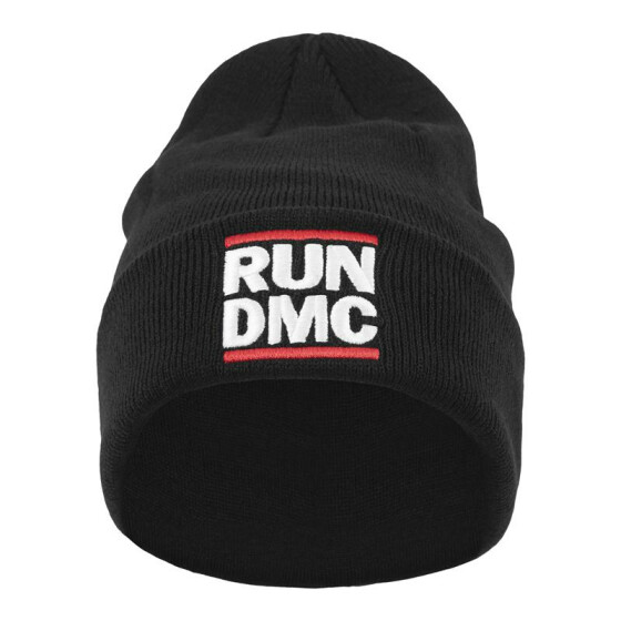 Mister Tee Run DMC Logo Beanie, black