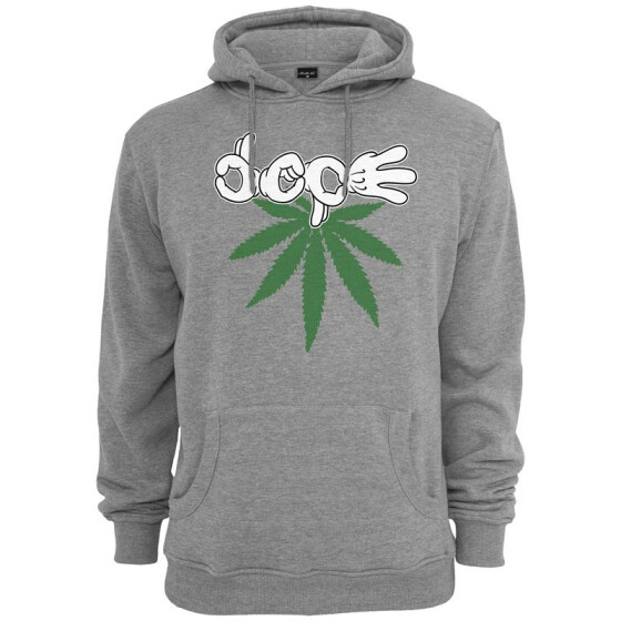 Mister Tee Switch Dope Hoody, h.grey
