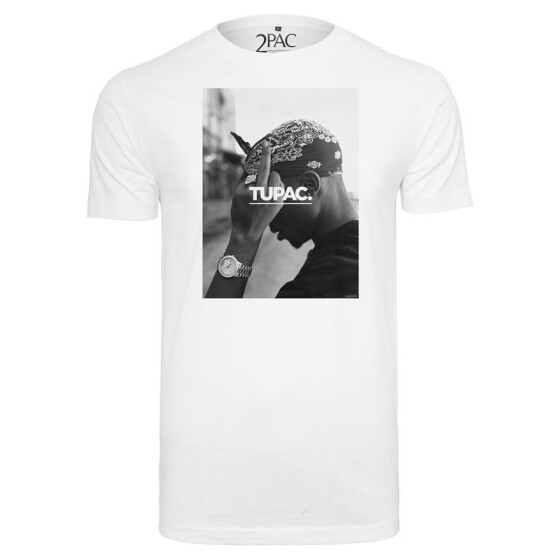 Mister Tee 2Pac F*ck The World Tee, white