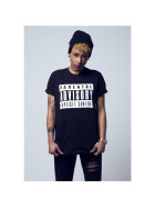 Mister Tee Parental Advisory Tee, black