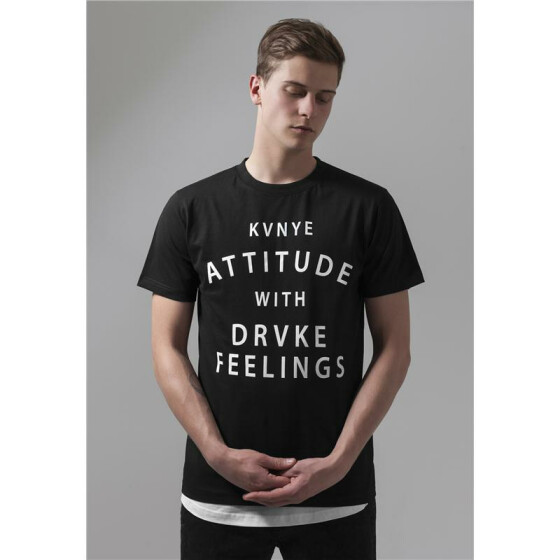 Mister Tee Attitude and Feelings TEE, black