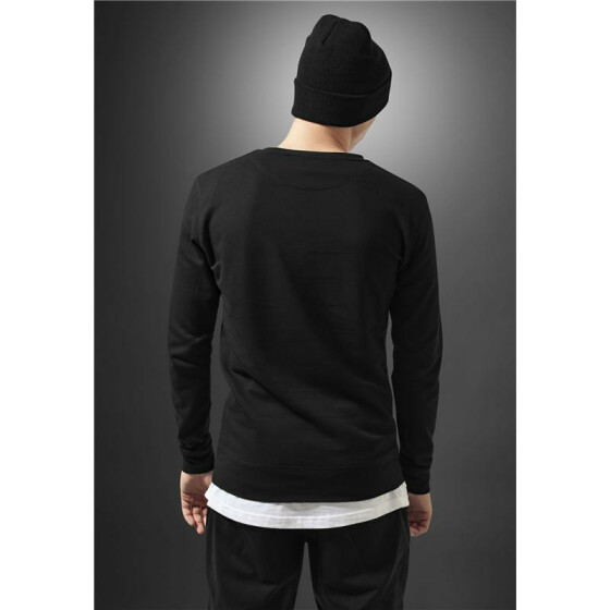 Mister Tee Swish Crewneck, black