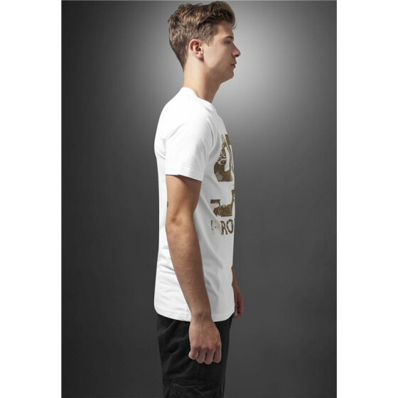 Mister Tee 99 Problems Desert Camo Tee, white