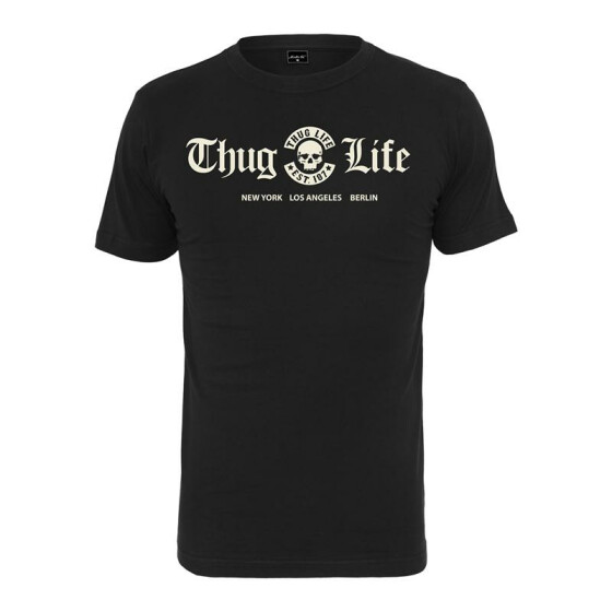 Mister Tee Thug Life Cities Tee, black