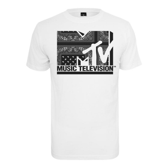 Mister Tee MTV I am Music Tee, white