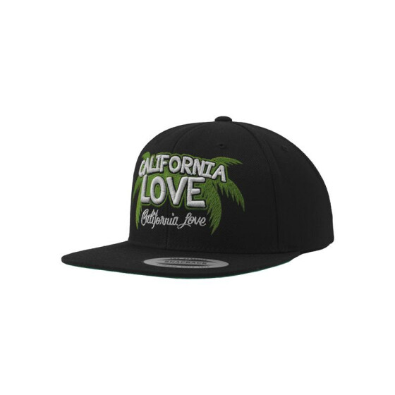 Mister Tee California Palms Cap, black