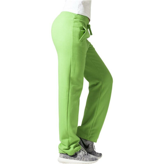 Urban Classics Loose-Fit Sweatpants, limegreen