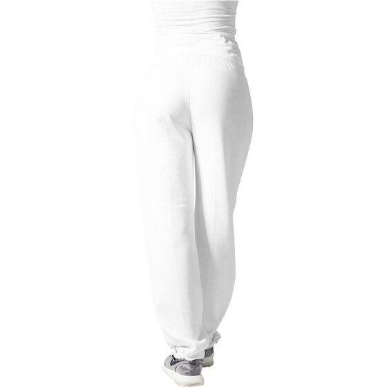 Urban Classics Loose-Fit Sweatpants, white
