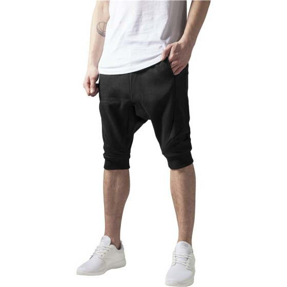 Urban Classics Deep Crotch Undefined Sweatshorts, black
