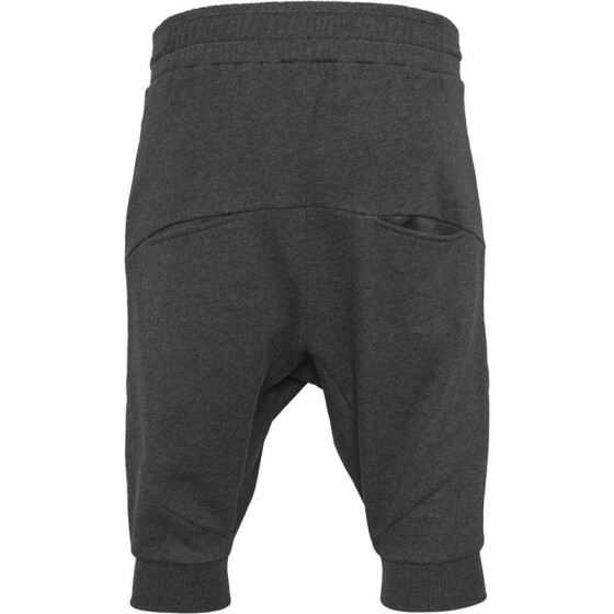 Urban Classics Deep Crotch Undefined Sweatshorts, charcoal
