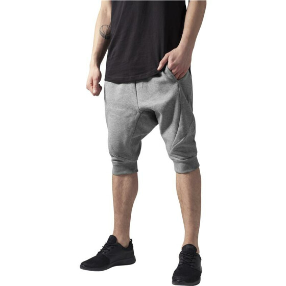 Urban Classics Deep Crotch Undefined Sweatshorts, grey