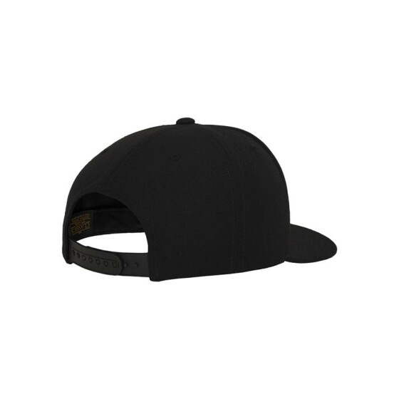 Urban Classics Leatherpatch Snapback, black
