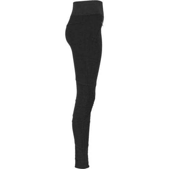 Urban Classics Ladies Interlock High Waist Leggings, blk/blk