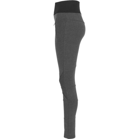 Urban Classics Ladies Interlock High Waist Leggings, cha/blk