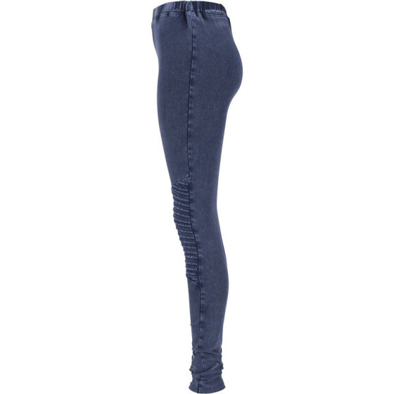 Urban Classics Ladies Denim Jersey Leggings, indigo
