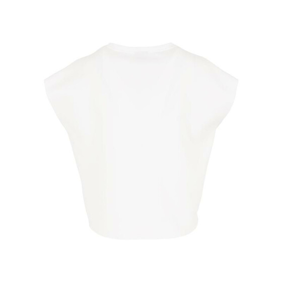 Urban Classics Ladies Scuba Sleeveless Crew, offwhite