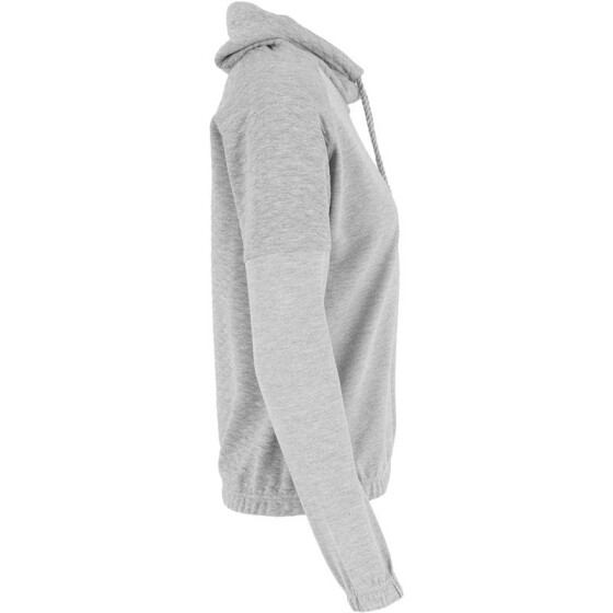 Urban Classics Ladies Quilt High Neck Crew, grey