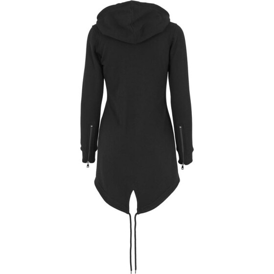 Urban Classics Ladies Sweat Parka, black