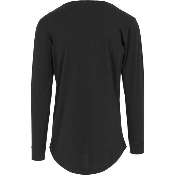 Urban Classics Long Shaped Fashion L/S Tee, black
