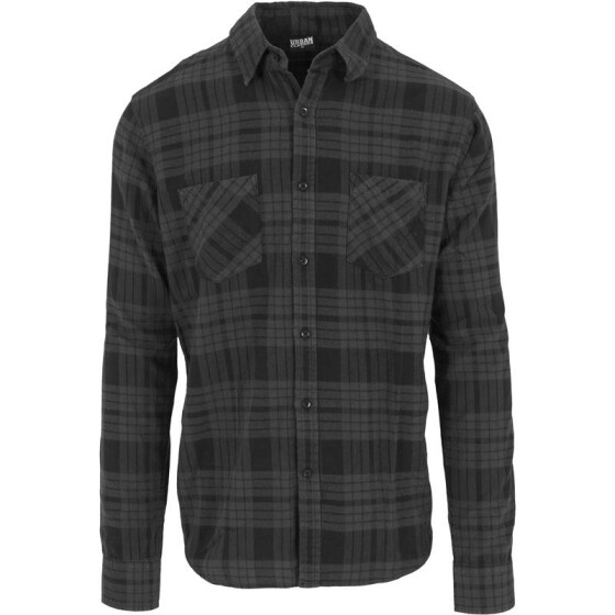 Urban Classics Checked Flanell Shirt 2, cha/blk
