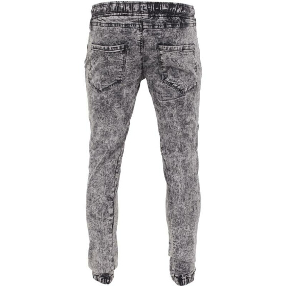 Urban Classics Stretch Denim Jogging Pants, acid black