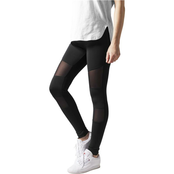 Urban Classics Ladies Tech Mesh Leggings, black
