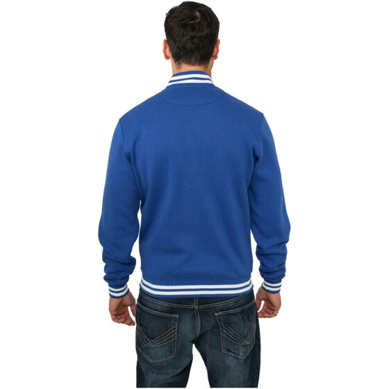 Urban Classics College Sweatjacket, royal