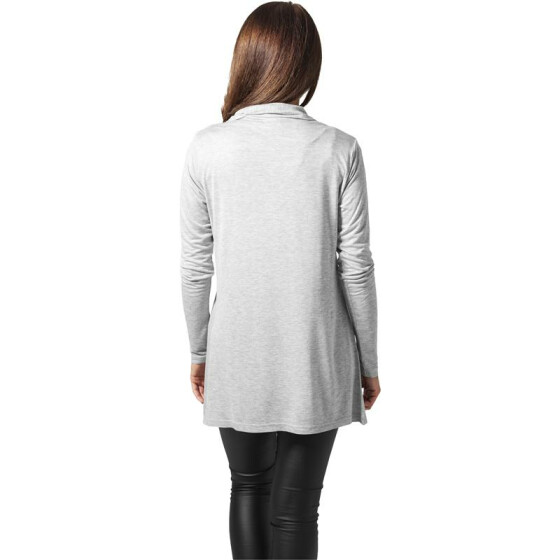 Urban Classics Ladies Viscose Cardigan, grey