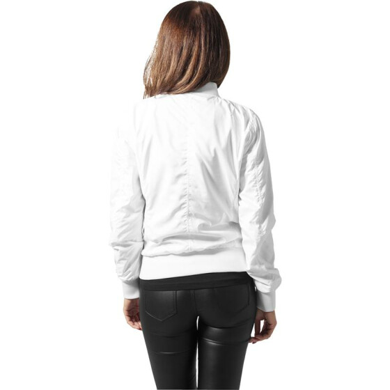 Urban Classics Ladies Light Bomber Jacket, white