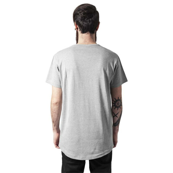 Urban Classics Peached Shaped Long Tee, grey
