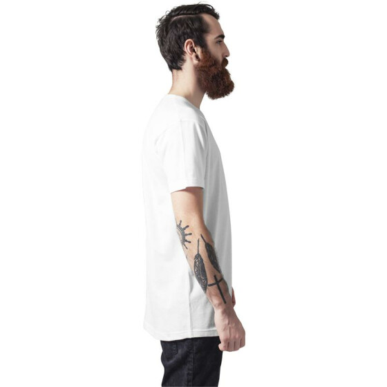 Urban Classics Peached Shaped Long Tee, offwhite