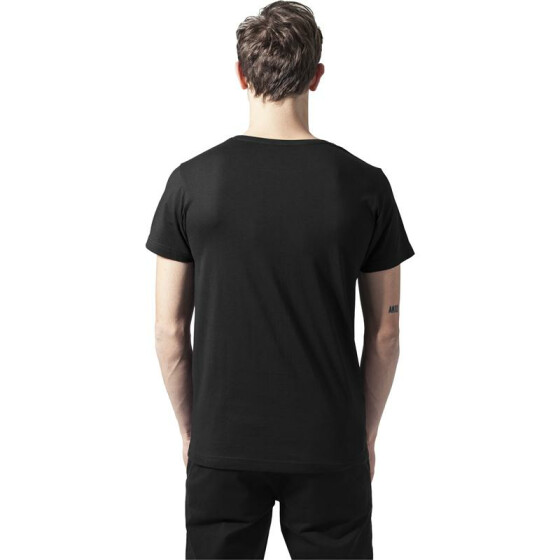 Urban Classics Quilted Pocket Tee, blk/blk