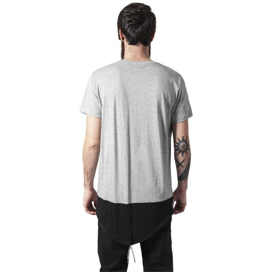 Urban Classics Long Tail Tee, gry/blk