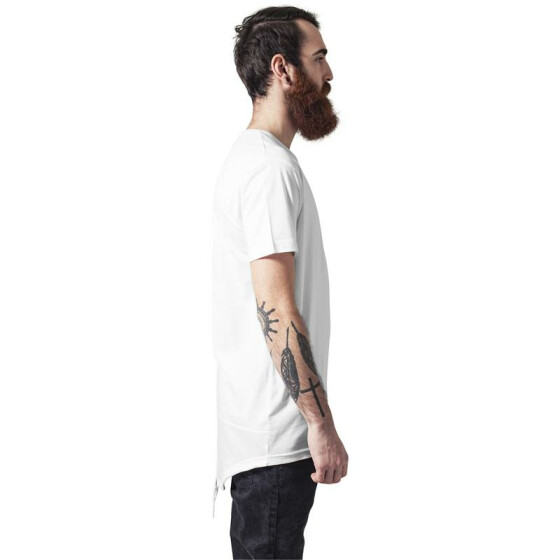 Urban Classics Long Tail Tee, wht/wht