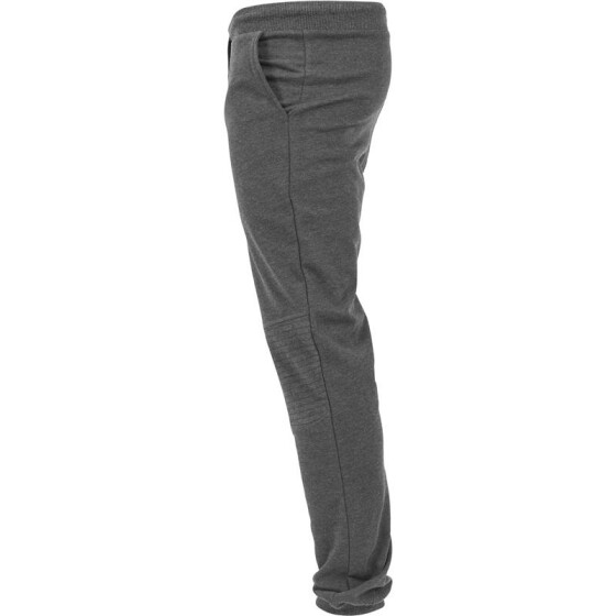 Urban Classics Deep Crotch Terry Biker Sweatpants, charcoal