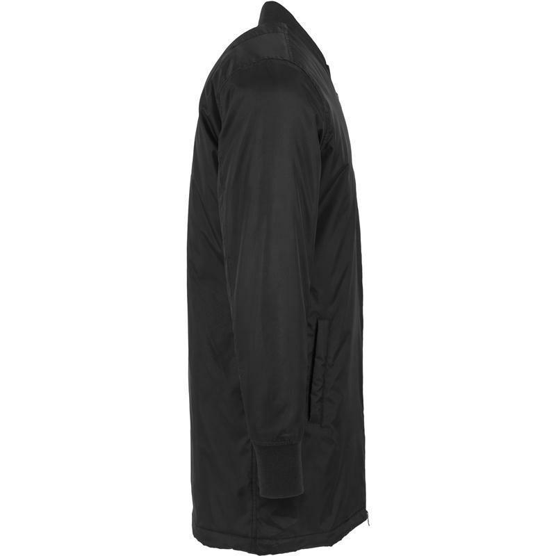 urban classics long bomber jacket black. Black Bedroom Furniture Sets. Home Design Ideas