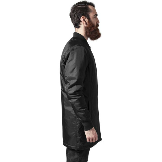 Urban Classics Long Bomber Jacket, black